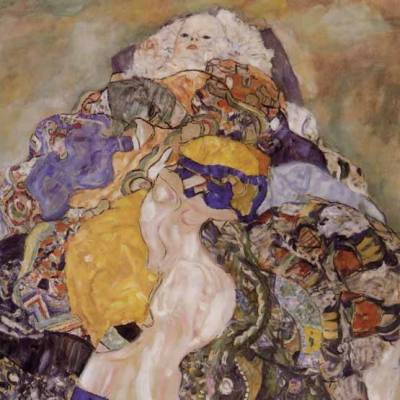 "Klimt ""Baby"" L.E & numbered Giclee"