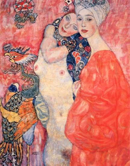 Klimt, Girl Friend, Giclee Limited Edition
