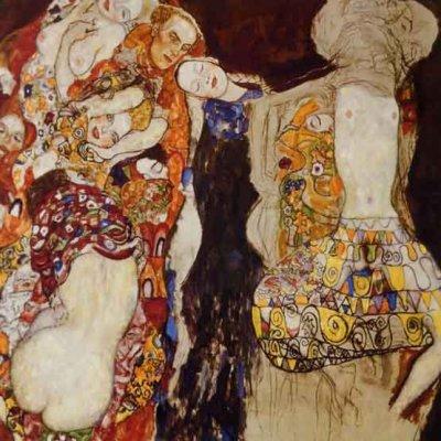 "Klimt ""The Bride"" L.E & numbered Giclee"
