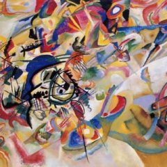 "Kandinsky ""Composition 7"" L.E & numbered Giclee"