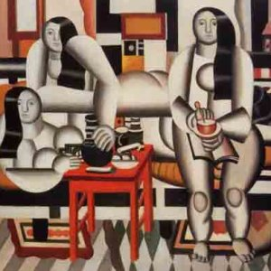 Fernand Leger Le petit dejeuner,  Giclee L.E.  numbered,  Abstract Expressionism