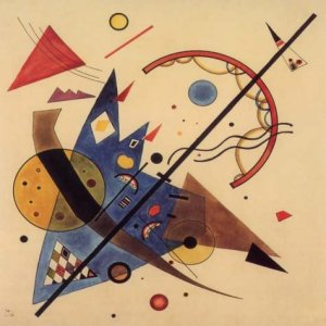 """Kandinsky """"Arch and point"""" L.E & numbered Giclee"""