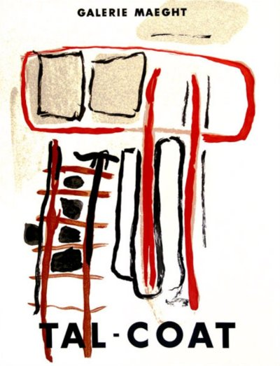 Pierre Tal Coat, Poster Lithograph 1956, Maeght