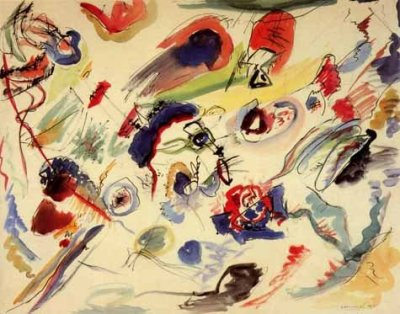"""Kandinsky """"Untitled 1910""""L.E & numbered Giclee"""