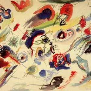 Kandinsky, Untitled 1910, Giclee Limited Edition