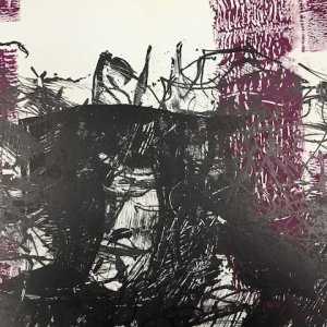 Riopelle, Original Lithograph, DM08171d, Derriere le Miroir 1968