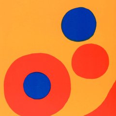 Book DLM 201 Published 1973 Calder 6 Original Lithographs