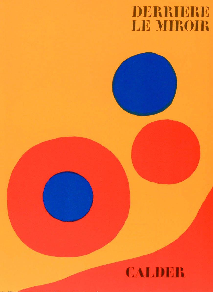 Book Derriere le Miroir 201, 1973 Contains 5 Lithographs by Calder