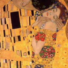 "Klimt ""The kiss"" L.E & numbered Giclee"