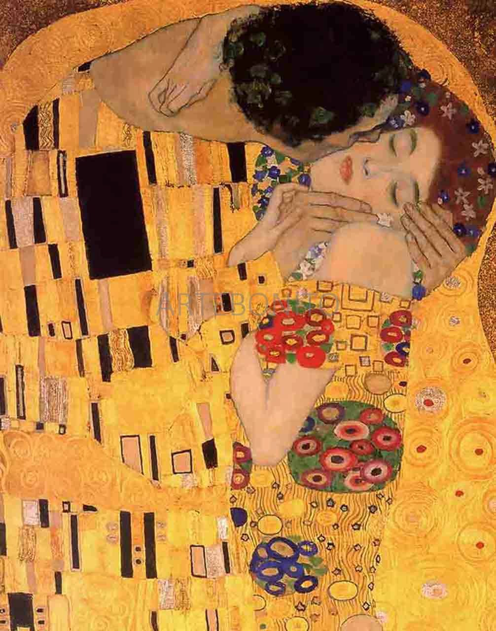 Klimt, The Kiss Limited Edition Giclee