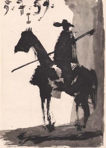 1961 Picasso, Toros y Toreros 1 dated 5/7/59