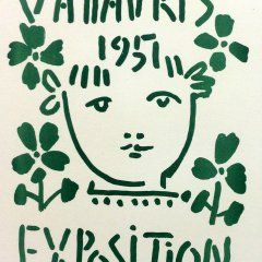 "Picasso 66 ""Vallaris 1951"" Mourlot - Art in posters"