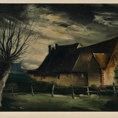 "Vlaminck 23 ""House folle 1933"" 1958"