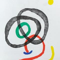 "Miro Lithograph ""DM02169"" DLM 1967"
