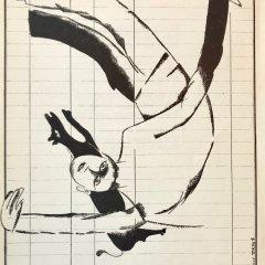 """Marc Chagall 8 """"Le dur desir de durer"""" Lithograph 1950"""
