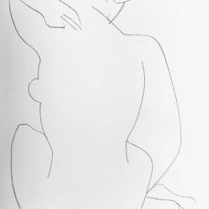 Matisse Henri Lithograph, DM0446, Derriere le Miroir 1952