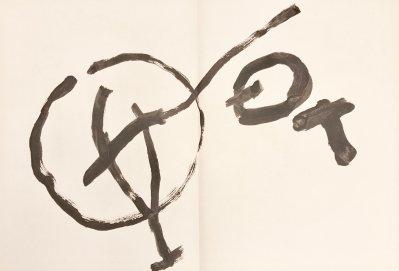 """Tal-Coat Original Lithograph """"DM05131"""" DLM 1962"""