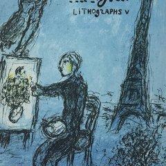Book Chagall Lithographs vol 5, catalogue raisonnée for 1974-1979