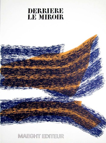 Raoul Ubac Original Lithograph, Cover DLM