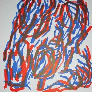 "Ubac Lithograph ""DM02142"" 1964"