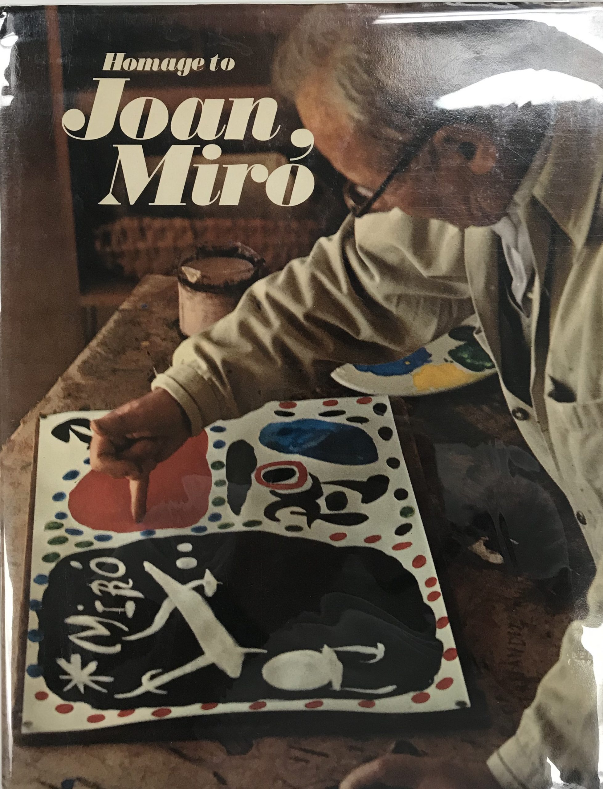 Book, Homage to Joan Miro, XX Siecle, contains 1 Lithograph