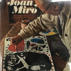 Book Homage to Joan Miro, contains 1 Lithograph, Contemporary art