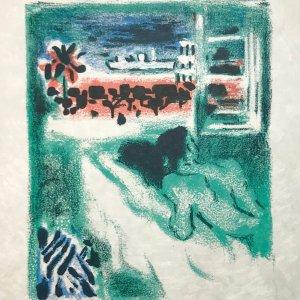 Alexandre Garbell Lithograph 2, Mourlot 1962