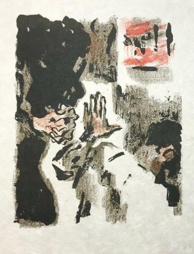 Alexandre Garbell 5, Original Lithograph 1962 Mourlot