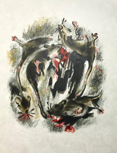 Alexandre Garbell 6, Original Lithograph 1962 Mourlot