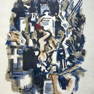 Alexandre Garbell Lithograph 7, Mourlot 1962