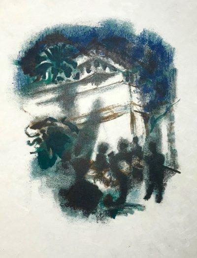 Alexandre Garbell 11, Original Lithograph 1962 Mourlot