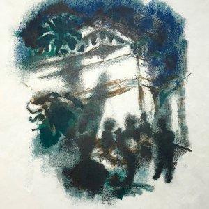 Alexandre Garbell Lithograph 11, Mourlot 1962