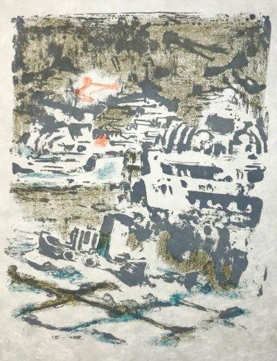 Alexandre Garbell 16, Original Lithograph 1962, Mourlot