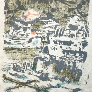 Alexandre Garbell Lithograph 16, Mourlot 1962