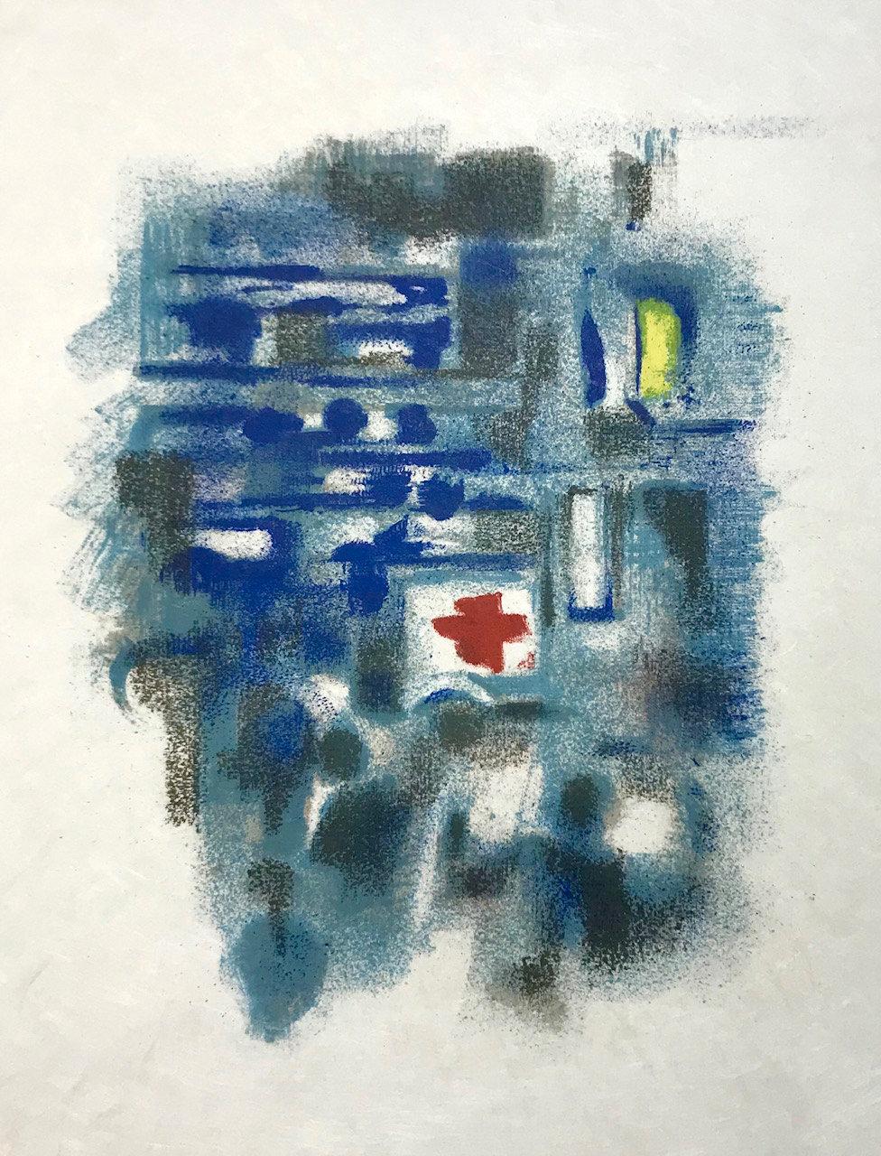 Alexandre Garbell 12, Original Lithograph 1962, Mourlot
