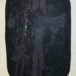 Paul Guiramand, Lithograph 1962, Untitled 2