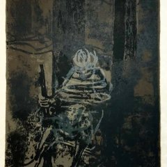 "Paul Guiramand ""3"" Original Lithograph 1962, Mourlot"