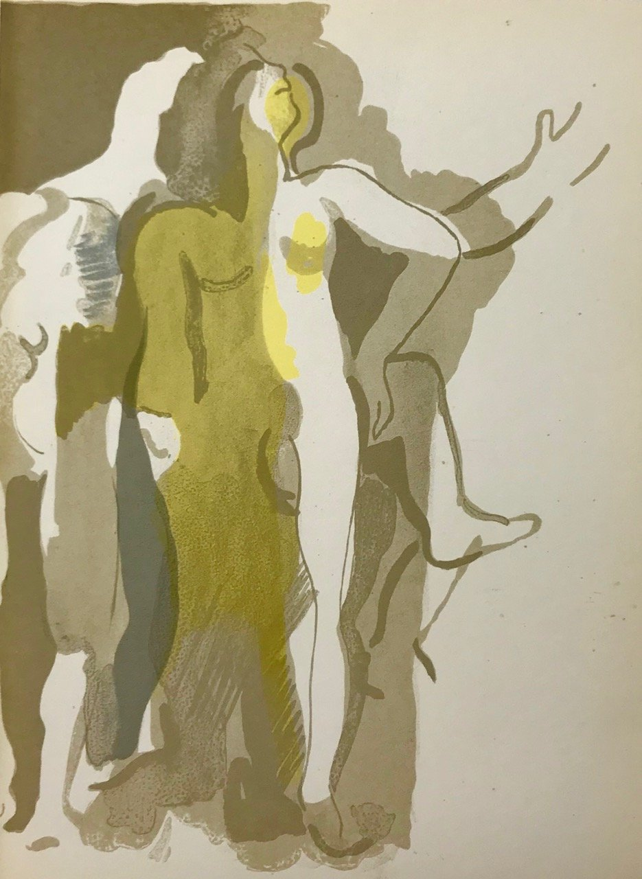 Andre Beaudin Original Lithograph 4, 1961
