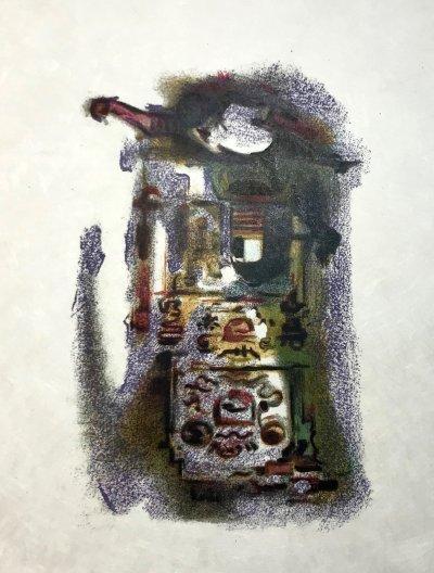 Alexandre Garbell 9, Original Lithograph 1962 Mourlot