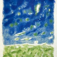 """Jules Cavailles """"9"""" Original Lithograph 1962, Mourlot"""