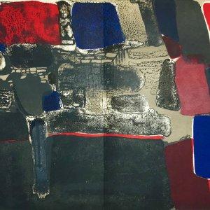 Paul Guiramand, Lithograph 1962, Untitled 1
