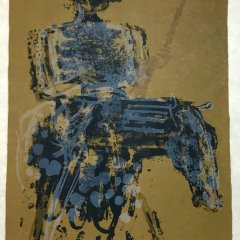 "Paul Guiramand ""5"" Original Lithograph 1962, Mourlot"