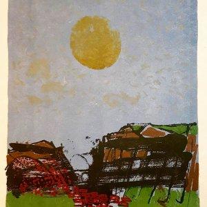Paul Guiramand, Lithograph 1962, Untitled 12