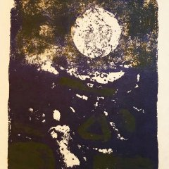 "Paul Guiramand ""13"" Original Lithograph 1962, Mourlot"