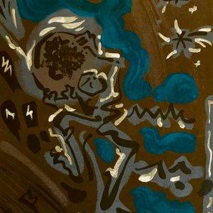 "Andre Masson ""5"" Original Lithograph 1962, Mourlot"