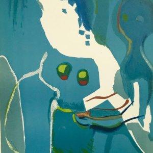 "Francisco Bores ""6"" Original Lithograph 1961 Mourlot"