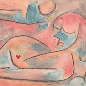 Paul Klee lithograph Winter Verve 1938