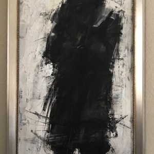 aldo luongo-man in black-1971