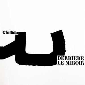 Eduardo Chillida, Original Lithograph, DM01204f, Derriere le miroir 1973