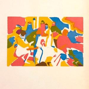 Wassily Kandinsky Woodcut Klange 1, XX siecle 1975